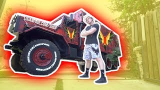 I STOLE JAKE PAUL'S NEW MERCH TRUCK!