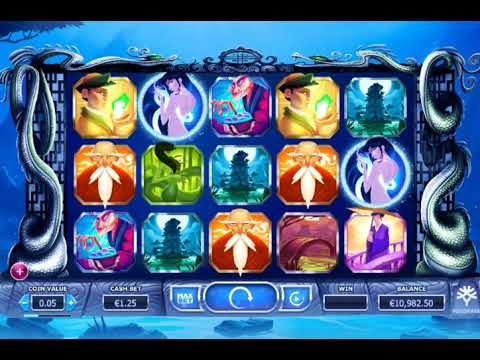 Игровой автомат LEGEND OF THE WHITE SNAKE LADY играть бесплатно и без регистрации онлайн