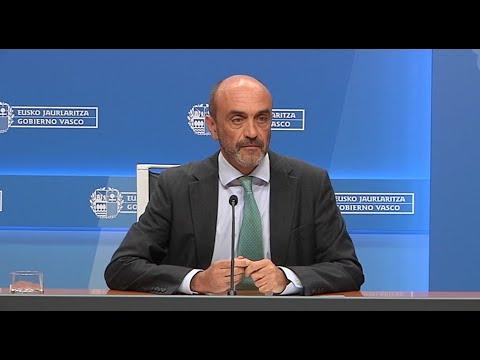 Mikel Sánchez. Evolución epidemiológica del coronavirus en Euskadi (06-04-2020)