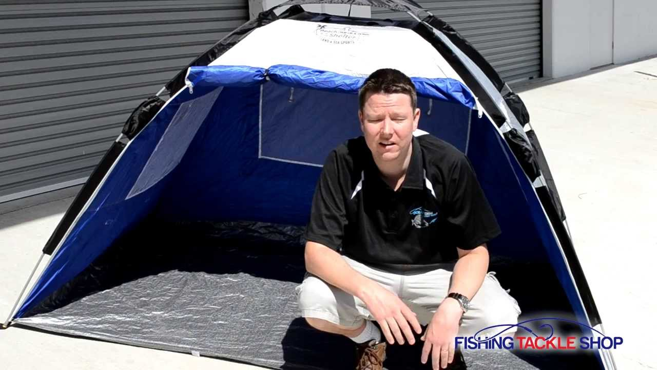 Beach Tent - Sun Shelter - Pop up in seconds - Land and Sea Sports - YouTube  sc 1 st  YouTube & Beach Tent - Sun Shelter - Pop up in seconds - Land and Sea Sports ...