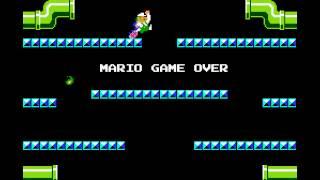 Mario Bros - Mario Bros (NES / Nintendo) - Vizzed.com - Week 7 - Mario Bros. - SuperMariofan908 vs vanelan - User video