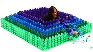 TRAPPED IN A DOMINO STRUCTURE!! thumbnail