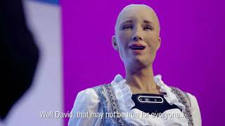 DIA 2019 Munich | Robot Sophia Interview