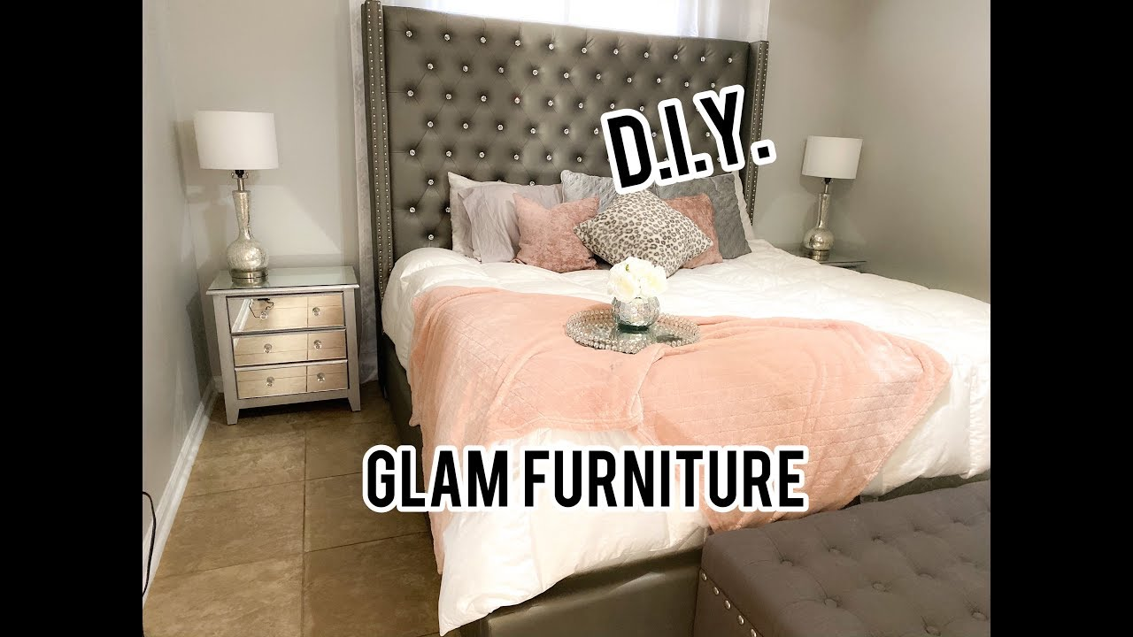 Glam Mirrored Bedroom Furniture