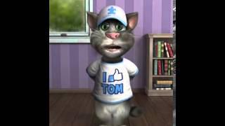 talking tom cat поёт песню noize mc тыщатыщ..от ромы крикливого