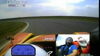 My 360 spin at 77mph in a Jaguar JP-LM