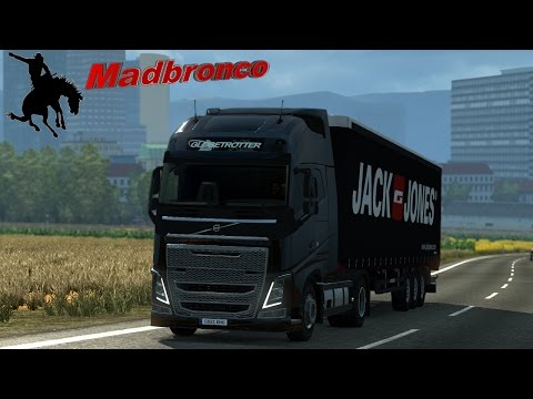 ets2 Driver for Hire ep63 - Cordoba to Lisbon (18t Men's Clothing)