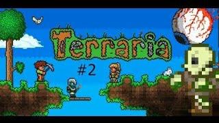 terraria На Андроид #2 Вагонетки