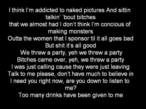 Drake - Marvin's Room with lyrics