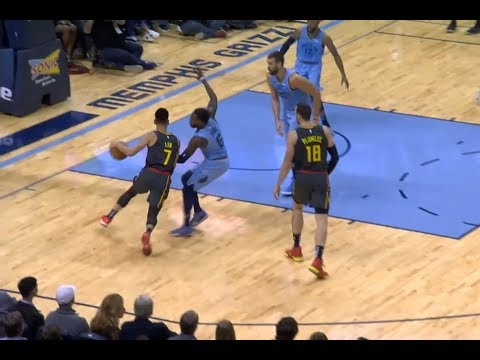 Jeremy Lin Highlights - 10/19/18 Hawks at Grizzles