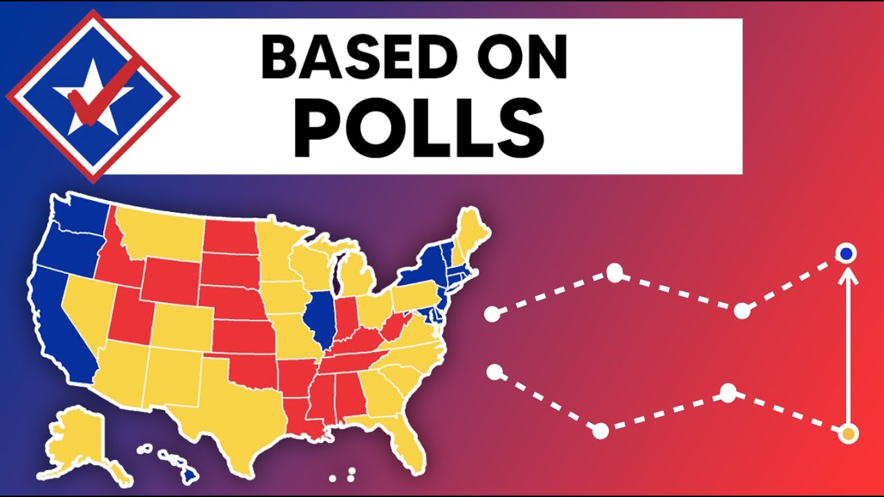 The 2020 Electoral Map Based on New Polling Data