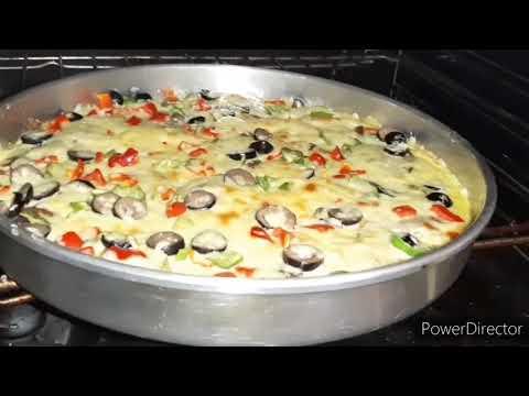 صورة  طريقة عمل البيتزا طريقه عمل بيتزا باستخدام البطاطس بدلا من العجينه طريقة عمل البيتزا من يوتيوب