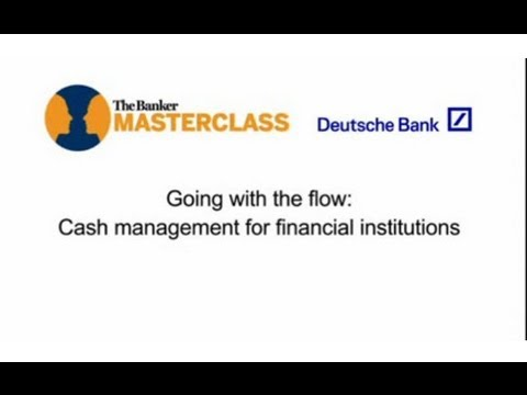 Going with the flow - Cash Management for Financial Institutions with Nelius De Groot