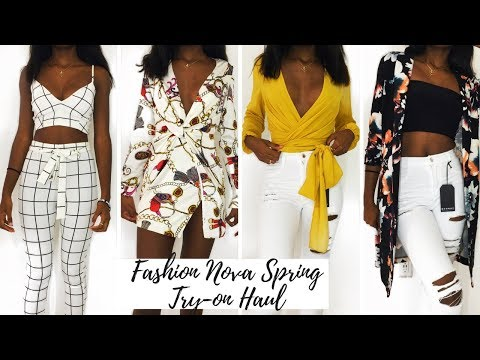 4953b0eee5 Spring/Summer Fashion Nova Try On Haul | Nyilah Colemon by Nyilah ...