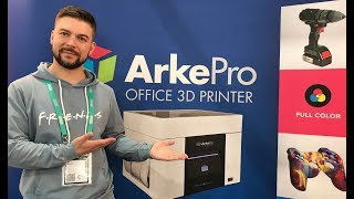 MCor Arke полноцветный 3д принтер | Выставка Formnext 2018