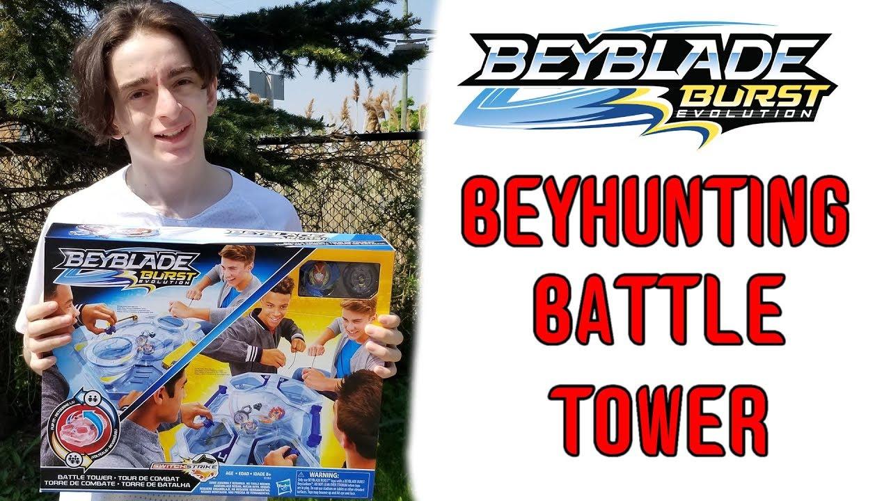 We Found The Hasbro Switchstrike Battle Tower Beyhunting Beyblade