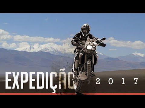 Viagem de Moto pelo Chile Argentina Uruguay.  # VIDEO 1
