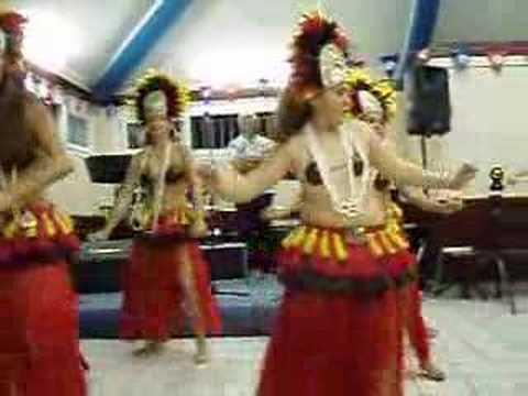 Polynesian dance in New Caledonia