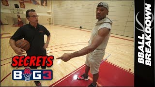 Corey Maggette Explains The Secrets To Offense In The Big 3