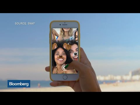 Snap Shares Fall Below IPO Price Amid Doubts Over Growth