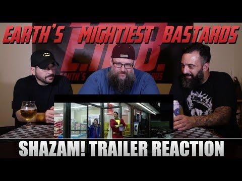 Trailer Reaction: SHAZAM!
