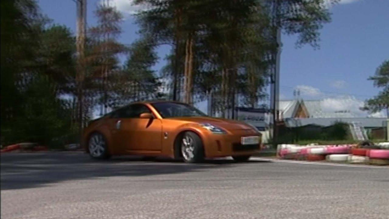 Тест-драйв Ниссан Файрледи Зет Nissan Firelady Z Nissan 350Z .
