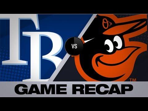 Tampa bay rays baseball game score