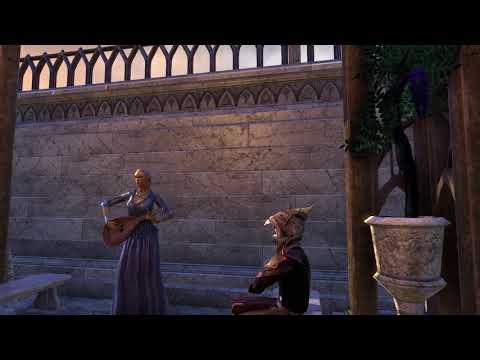 TESO Summerset Bards Song - The Tale of Syrabane