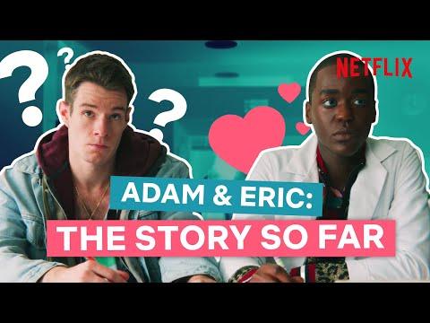 Adam & Eric: The Story So Far | Sex Education SEASON 2 SPOILERS