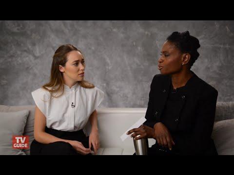 TV Guide  The 100: Alycia DebnamCarey & Adina Porter
