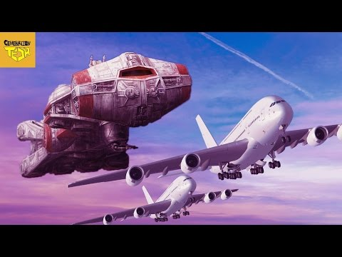 Thumbnail: The REAL SIZE of STAR WARS SHIPS Pt 2: Rebel Alliance Vessels