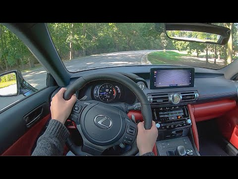 2021 Lexus IS350 F Sport - POV Test Drive (Binaural Audio)