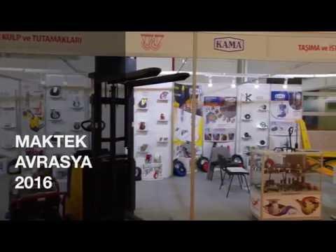 KAMA PRES 2016 Maktek Avrasya Fuarı