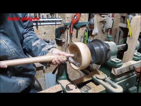 Torna da Ağaç Tabak Yapımı