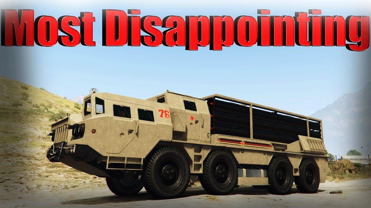Gta 5 Online Top 2 Worse Vehicles In Doomsday Heist Dlc