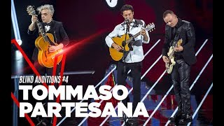 "Tommaso Partesana  ""Facciamo finta"" - Blind Auditions #4 - TVOI 2019"
