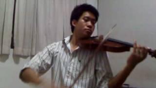 First Love - Utada Hikaru in violin