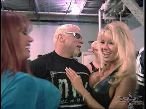 (720pHD): WCW Nitro 01/10/00 - Major Gunns, April Hunter & Shakira Debuts with Scott Steiner