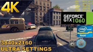 GTX 1060 | MAFIA 2 - 4K Performance - Ultra HD