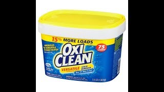 Cleaning A Wood Fence With Oxiclean