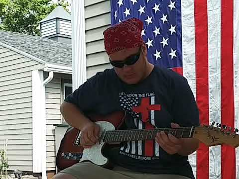 The Star Spangled Banner Guitar Solo Youtube