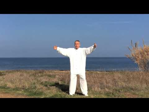 Ancient 3 Spheres of Energy exercise with Master Daniel Mitel