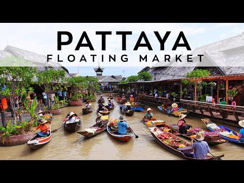 Pattaya Floating Market |Thailand Tourism | Fuze HD