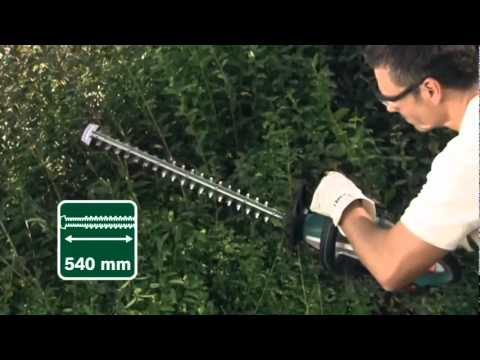 bosch garden tools cordless hedgecutter ahs 54 20 li mpg. Black Bedroom Furniture Sets. Home Design Ideas