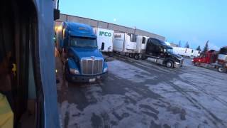 3663 loading at the first pickup. De Pere Wisconsin