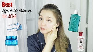 Sản Phẩm Trị Mụn Tiết Kiệm mà Hiệu Quả ♡ Affordable Skincare for Acne ♡ TrinhPham