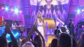 Carrie Underwood Performing at ACM Awards