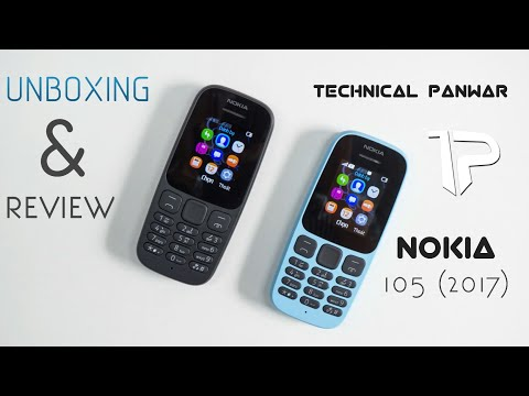 Nokia 105 (2017) Unboxing and Hands on Review