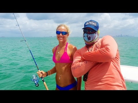 First Time Inshore Fishing Miami & Stiltsville Tour By Drone