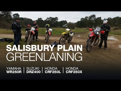 Salisbury Byways - GreenLaning in April on a WRR